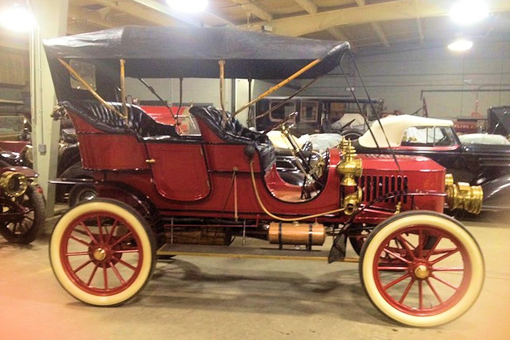 1908 Stanley Model F 20hp Touring
