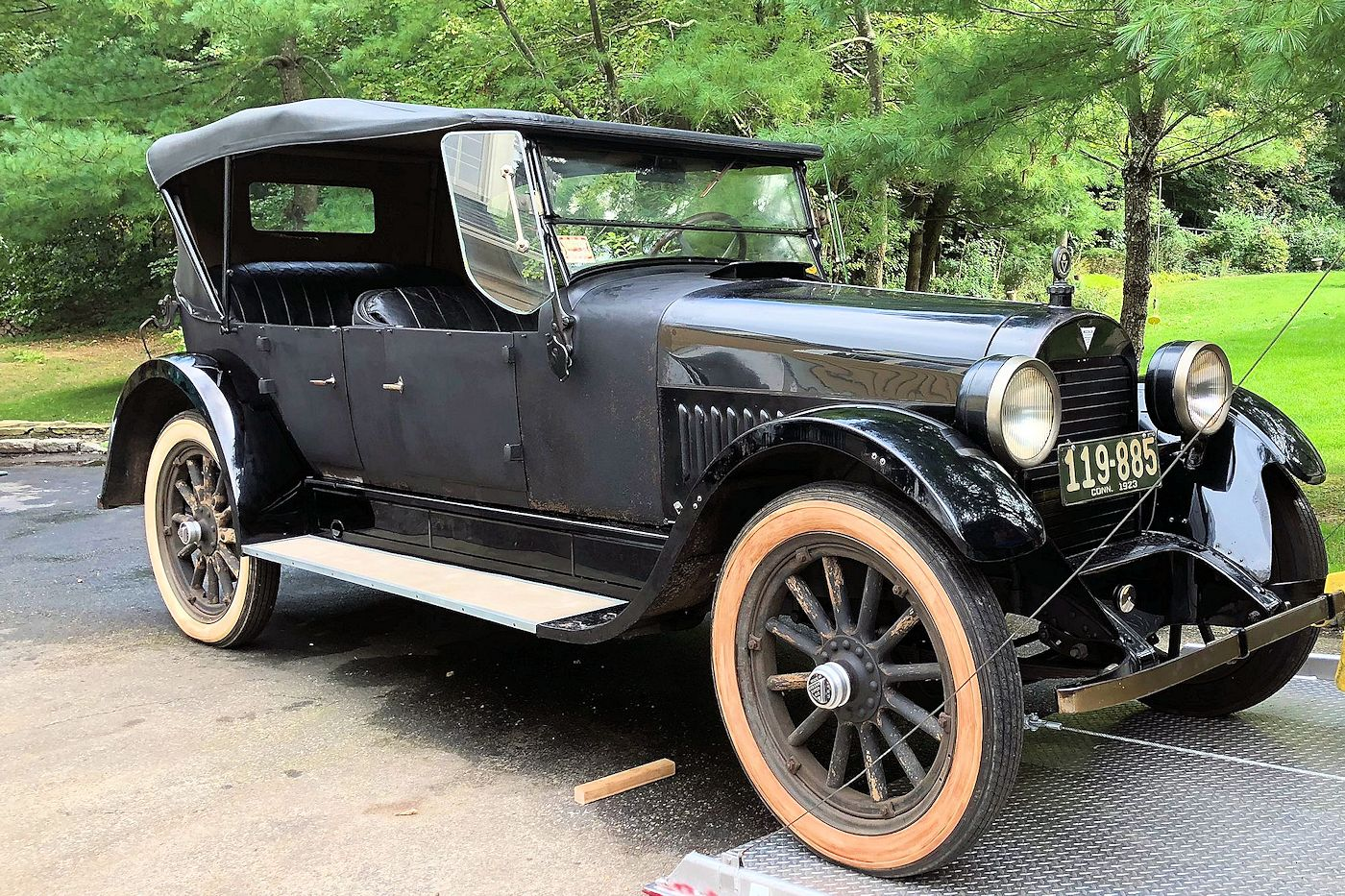 1922 Hudson restoration by Stu Laidlaw