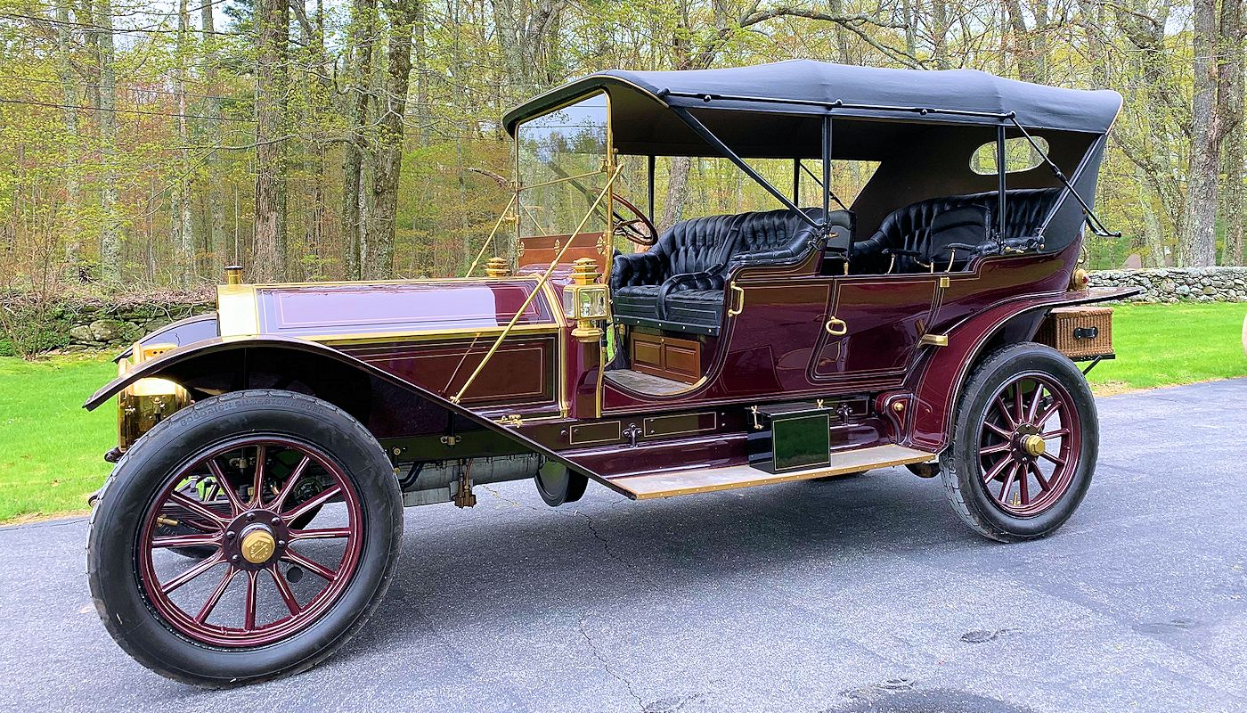 1910 Pierce Arrow, Model 66, Serial no6300E