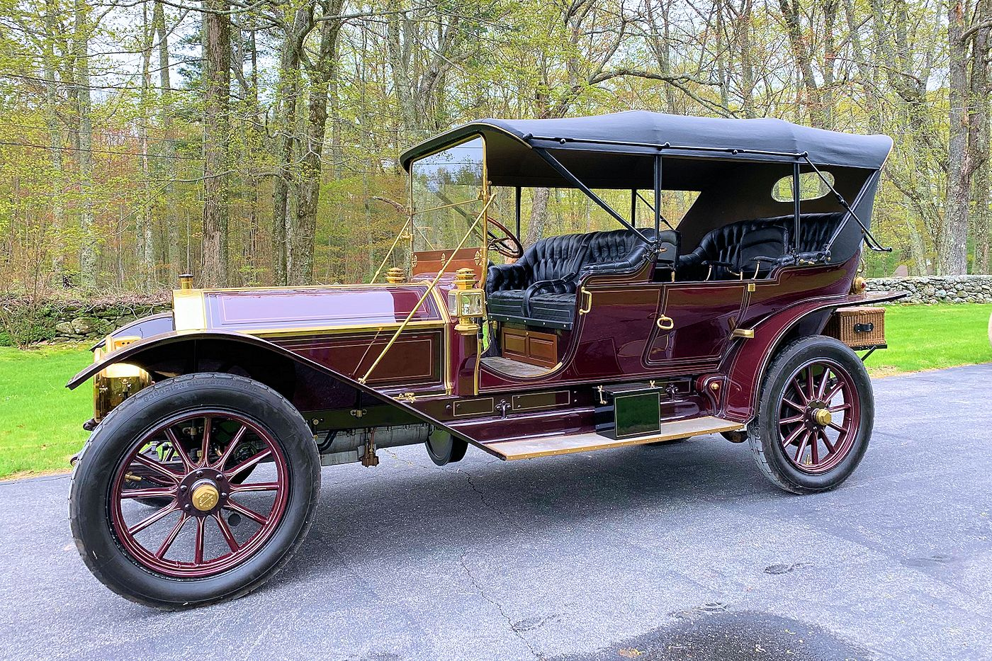 1910 Pierce Arrow, Model 66, Serial #6300E