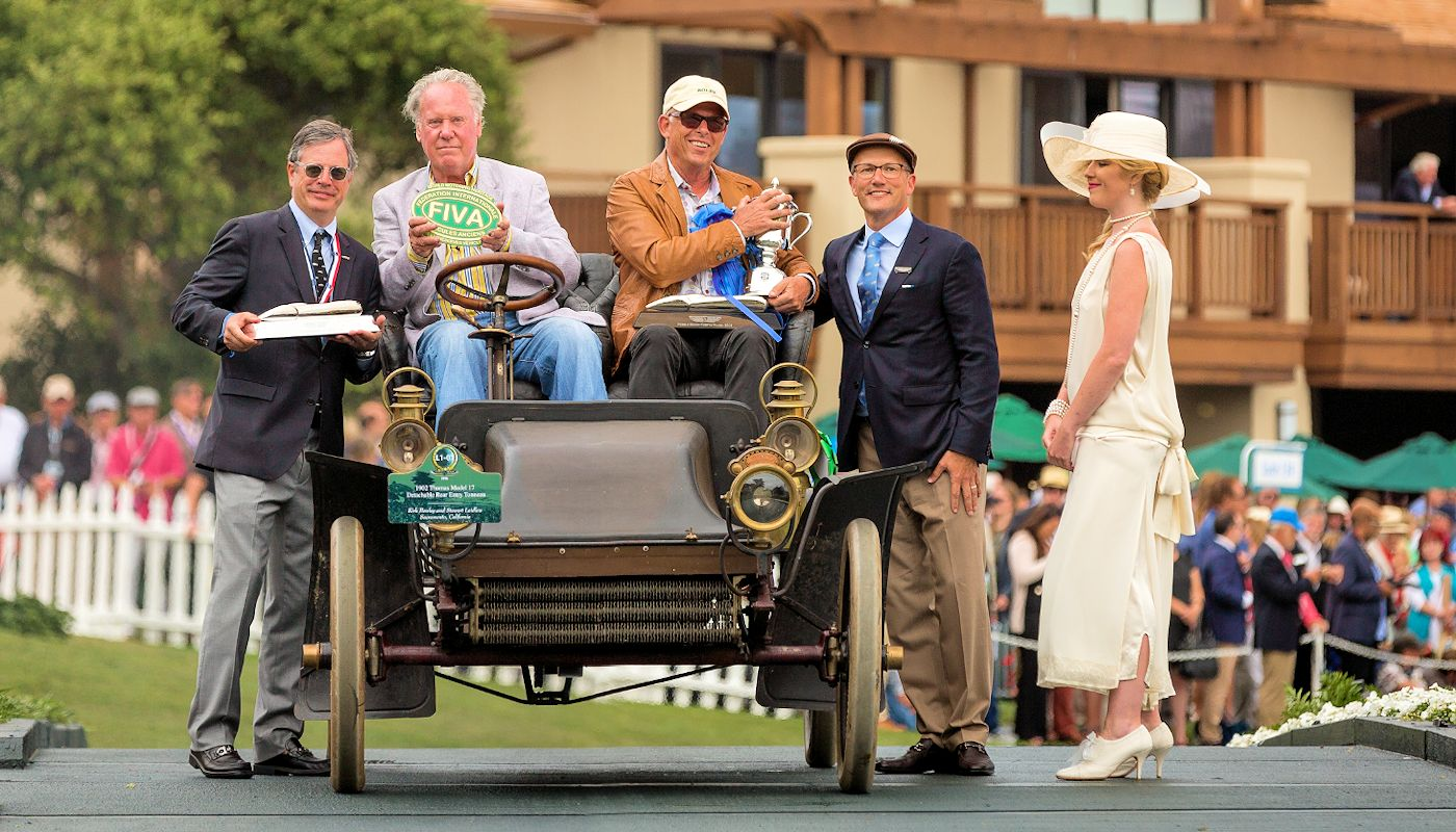 1902 Thomas Model 17 Restoration - Laidlaw Antique Auto Retoration - Pebble Beach Concours Winner