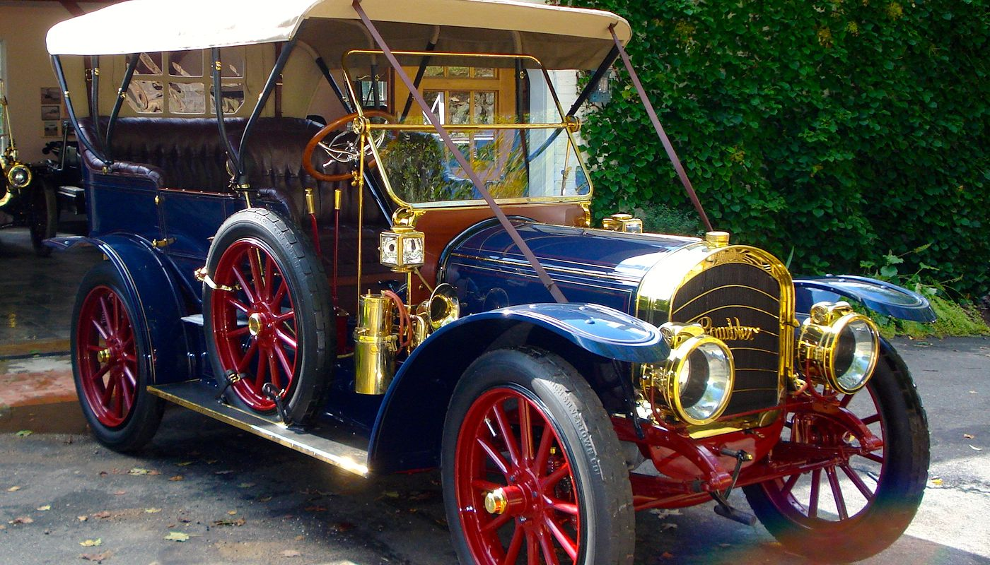 1910 Rambler Model 54  -  Laidlaw Antique Auto Retoration