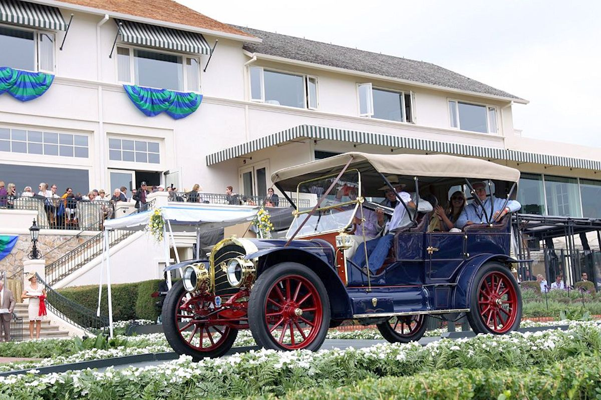 1910 RAMBLER MODEL 54 - Laidlaw Antique Auto Retoration - Pebble Beach Concours Winner