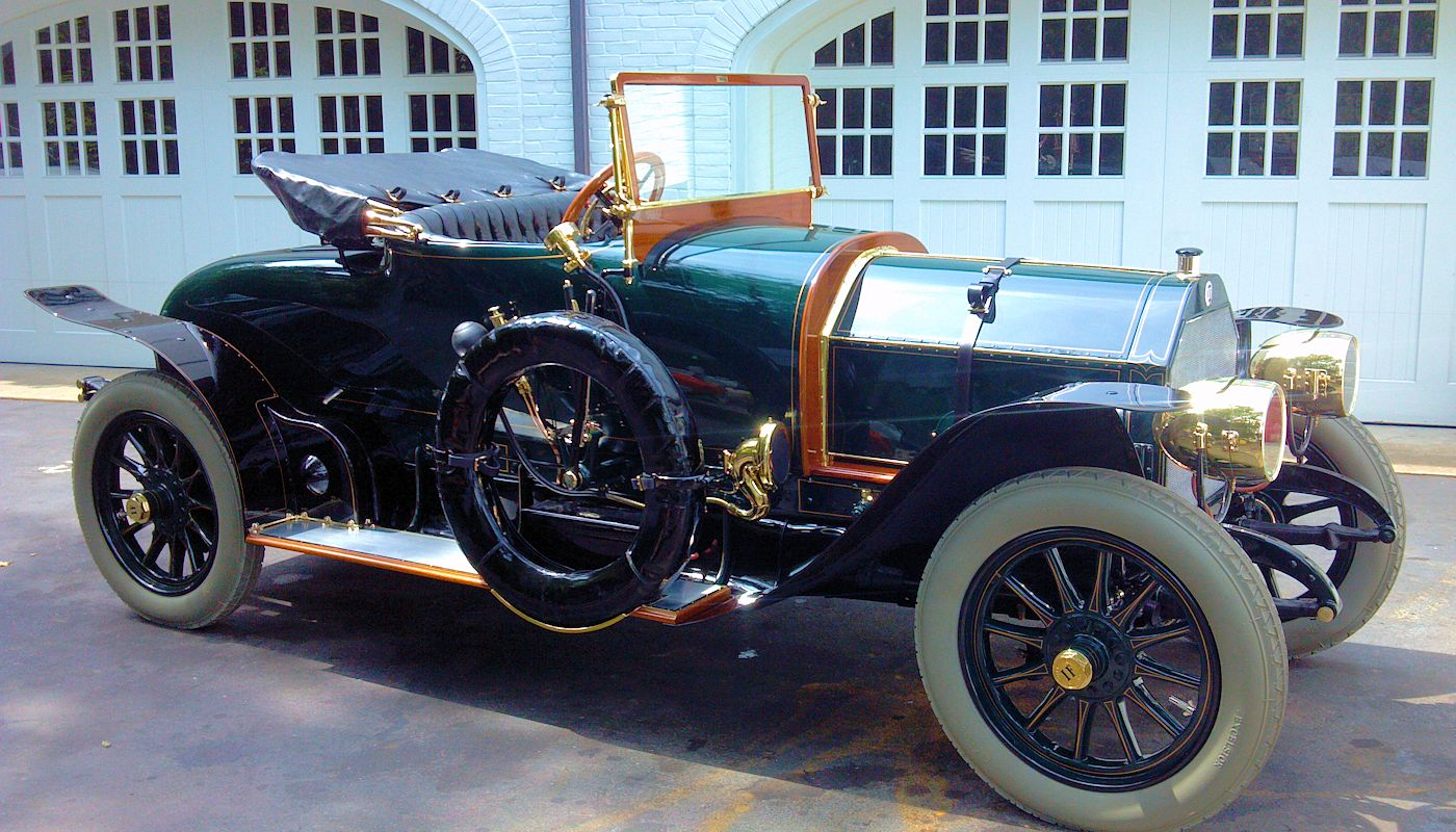 1911 Isotta Fraschini Tipo PM - Laidlaw Antique Auto Retoration - Pebble Beach Concours Winner