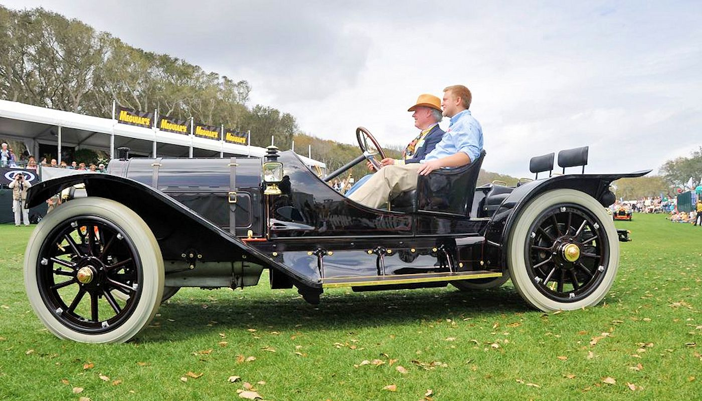 1911 Pope Hartford Model W Portola Roadster - Laidlaw Antique Auto Retoration - Pebble Beach Concours Winner