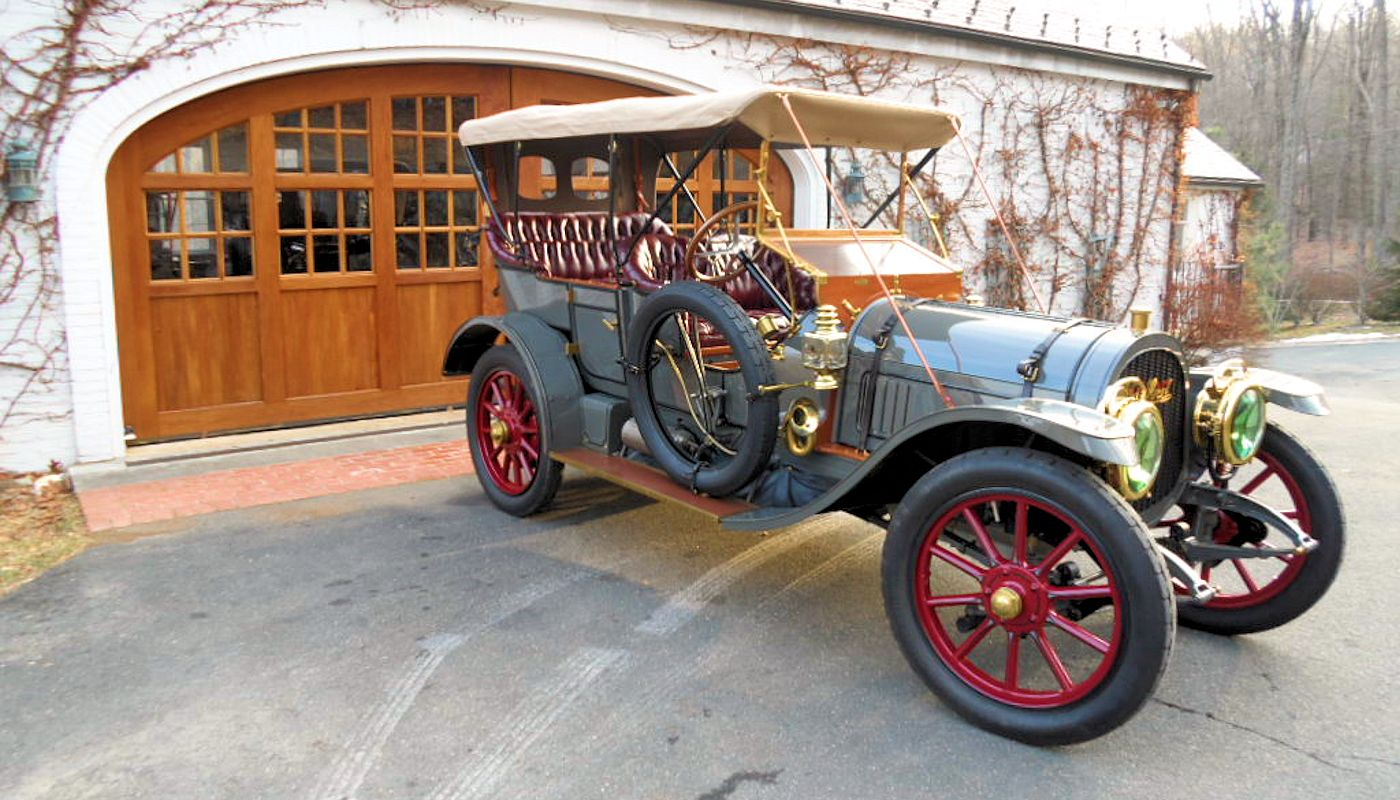 1912 Pope Hartford Model 27 - Laidlaw Antique Auto Retoration - Pebble Beach Concours Winner