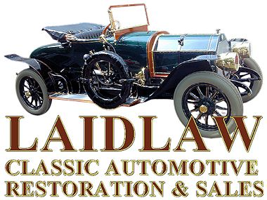 Laidlaw Antique Auto Restorations Logo